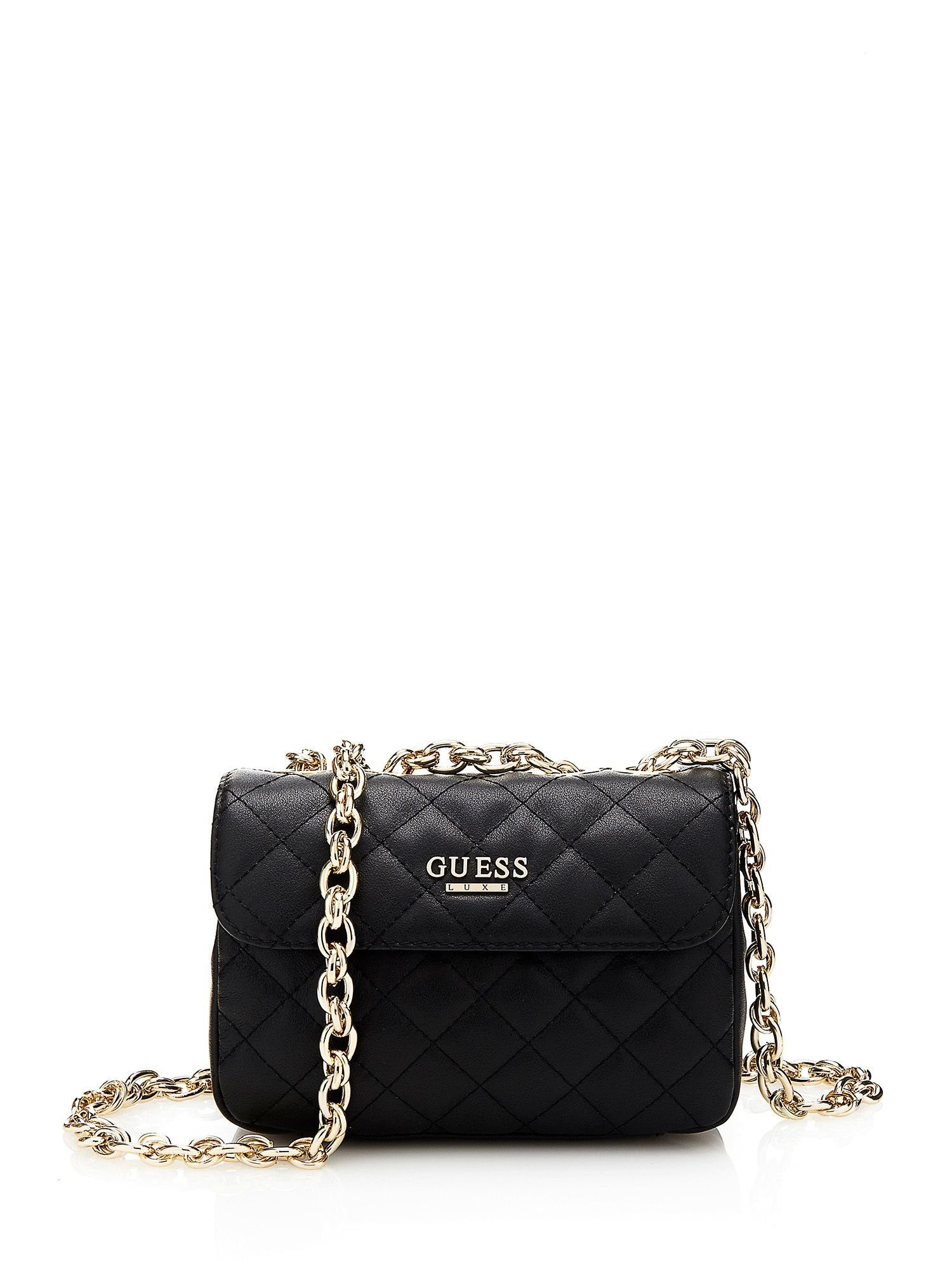 Guess Umhängetasche »Suave Quilted Crossbody Mini Flap«