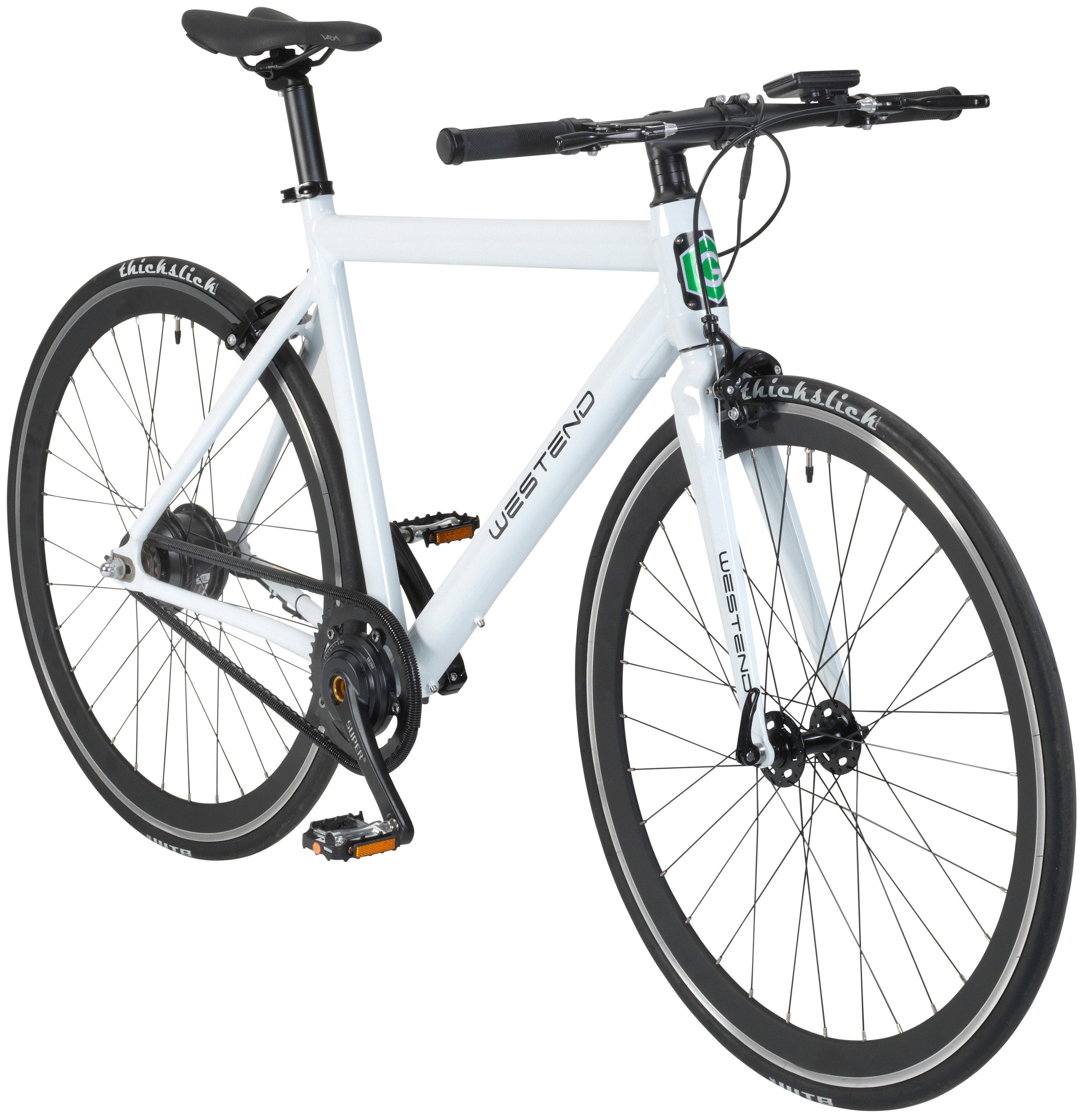 GREENSTREET E-Bike City »Westend«, 28 Zoll, Heckmotor, 245 Wh