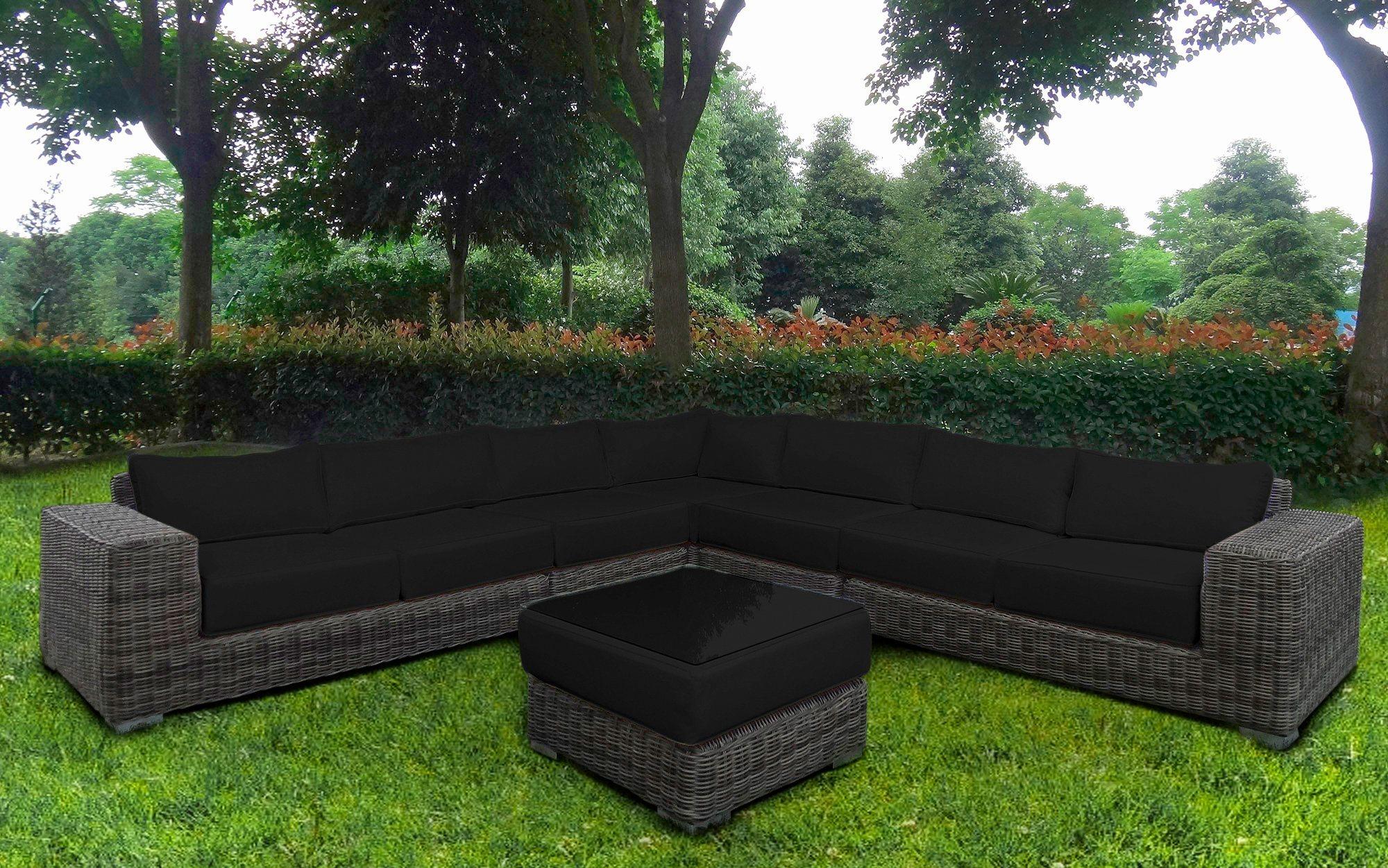 BAIDANI Loungeset »Sensation«, 21-tlg., Ecklounge, Tisch 67x67x40 cm, Polyrattan