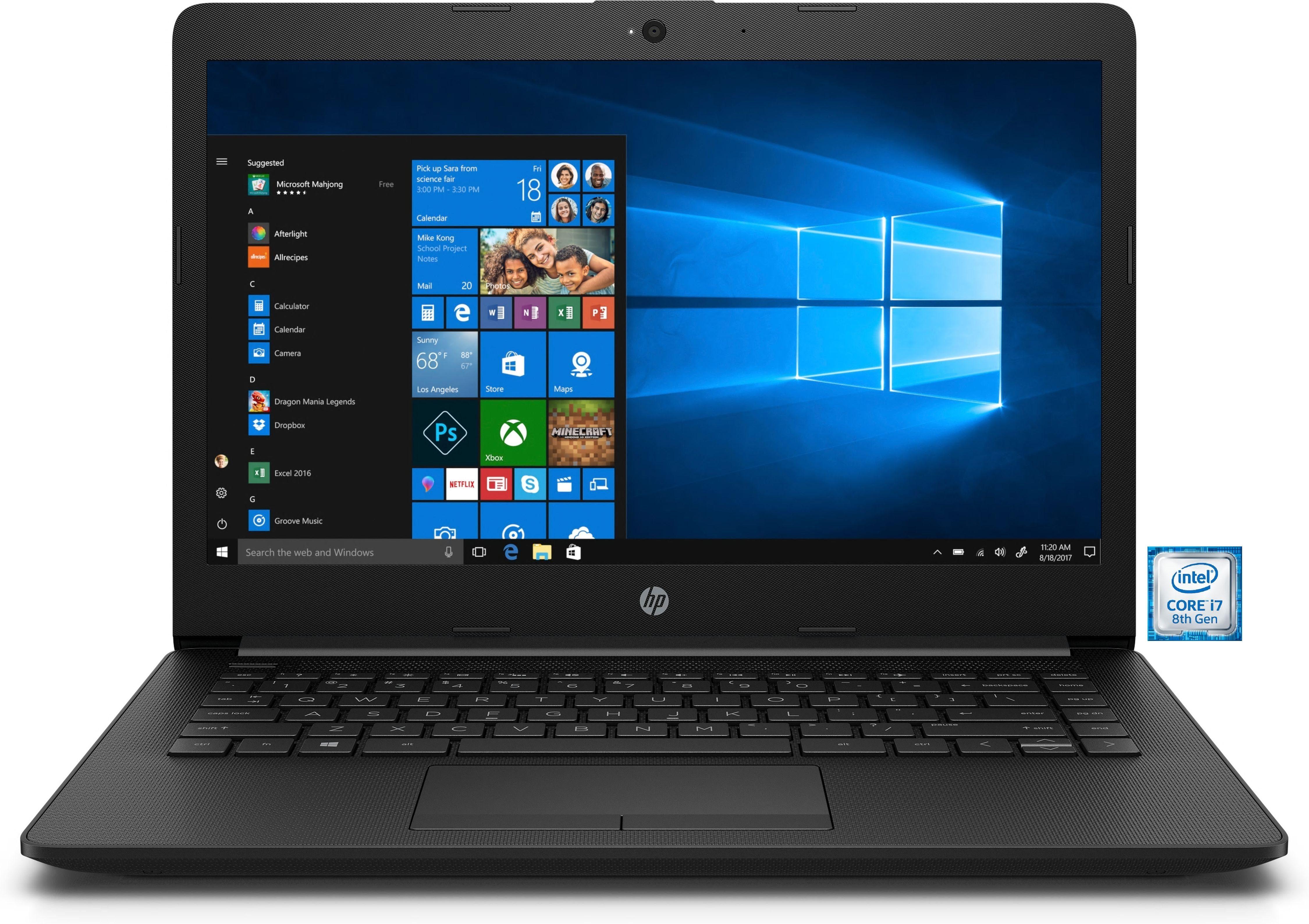 "HP 14-ck0205ng Notebook »35,6 cm (14"") intel Core i7, 256 GB SSD, 8 GB«"