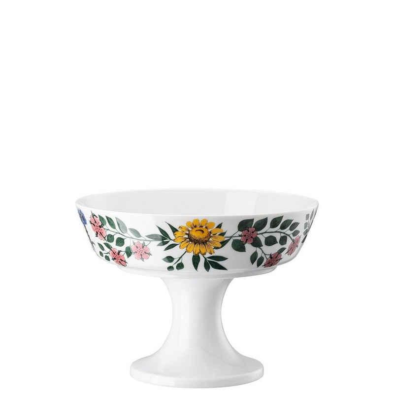 Rosenthal Gebäckschale »Magic Garden Blossom Schale 21 cm auf Fuß«, Porzellan