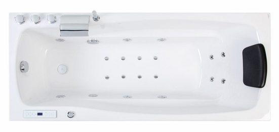 Emotion Whirlpool-Badewanne »Ocean 150 rechts Premium Whirlpool (L/B/H) 150/70/57,5cm«