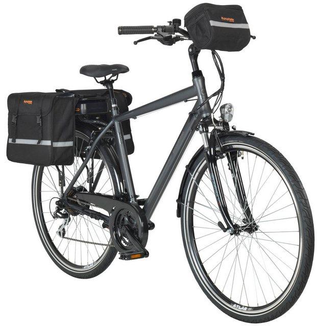 PROPHETE E-Bike Trekking »Entdecker e9.01«, 28 Zoll, 24 Gang, Heckmotor, 374,4 Wh*