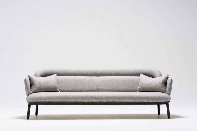 WohnenRoyal Sofa »Ankara Sofa 2 - Sitzer - Eschenholz - 185 x 80 x 77,5 cm«