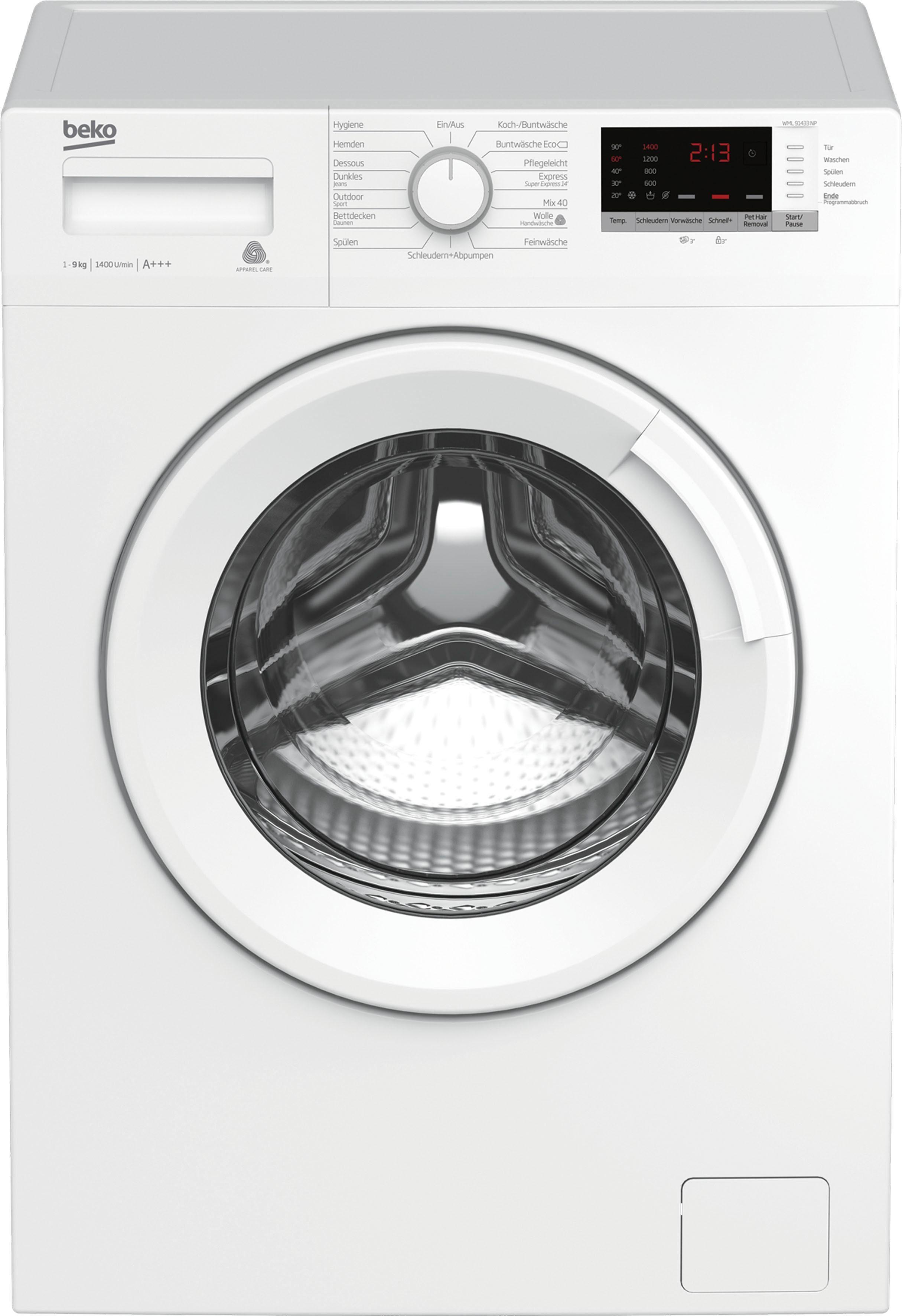 BEKO Waschmaschine WML 91433 NP