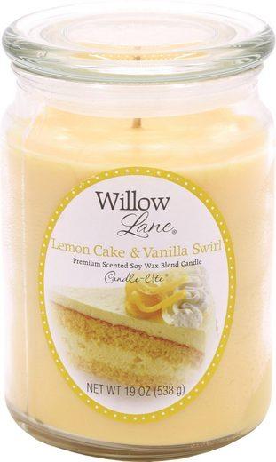 Candle-lite™ Duftkerze »Willow Lane - Lemon Cake & Vanilla Swirl« (1-tlg)