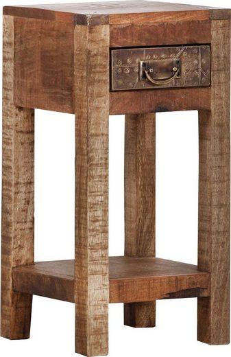 Gutmann Factory Beistelltisch »Oriental«, aus Massivholz Mango