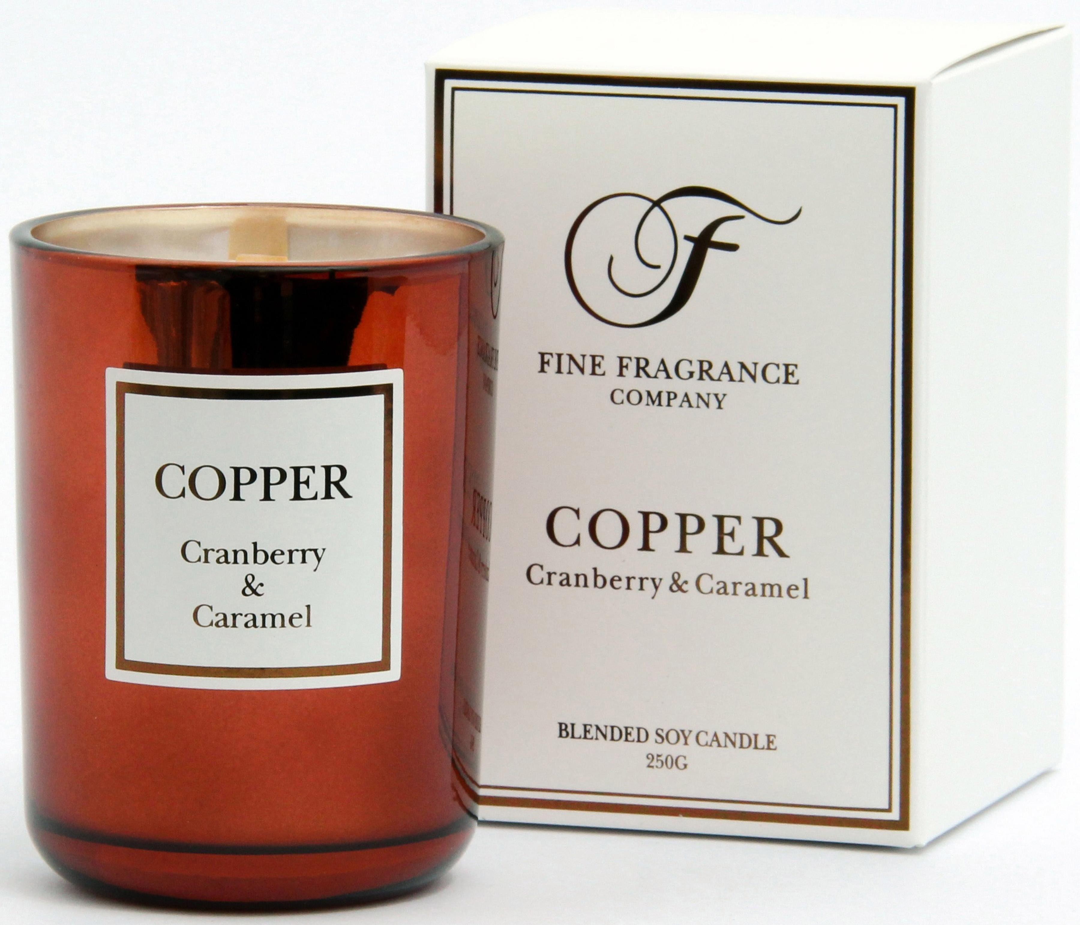 Fine Fragrance Company Duftkerze, »Precious - Copper«