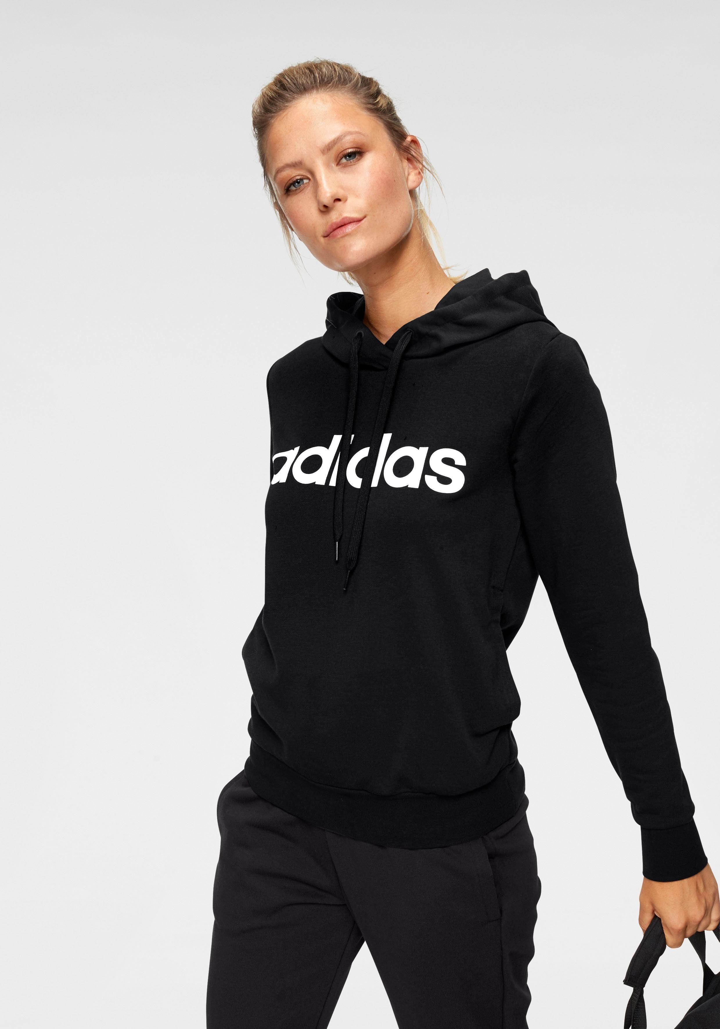 adidas Kapuzensweatshirt »W E LINEAR OPEN HEM HOODIE« online kaufen | OTTO