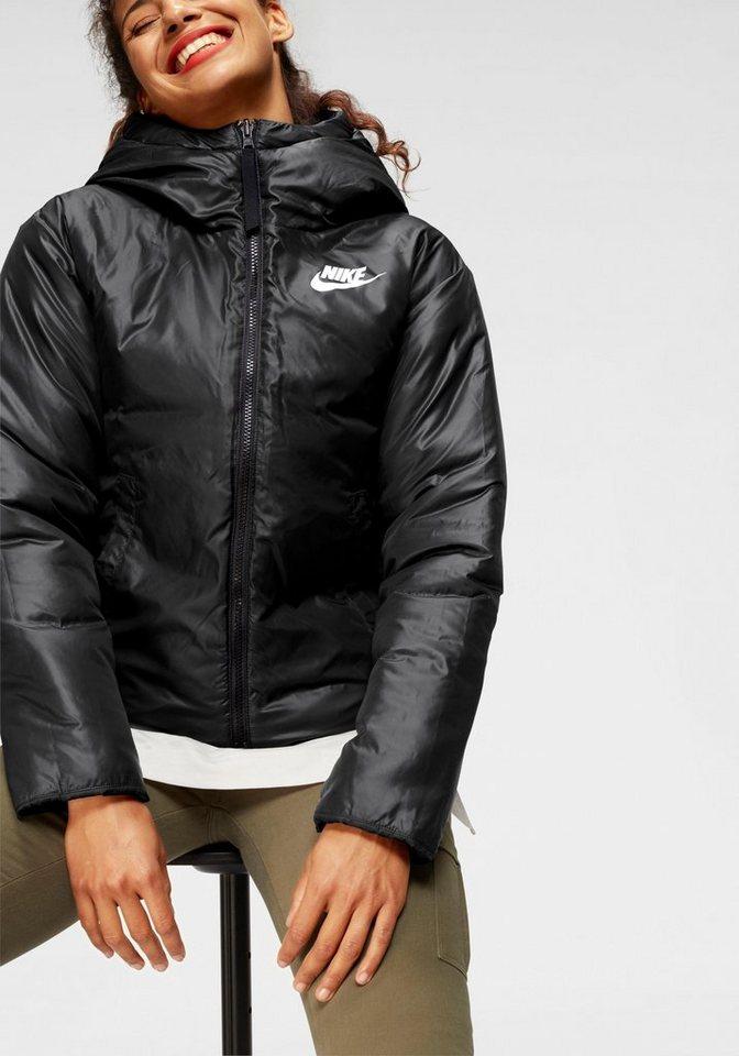 Nike Sportswear Steppjacke wendbar   Sportbekleidung > Sportjacken > Steppjacken   Schwarz   Nike Sportswear