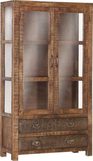 Gutmann Factory Vitrine »Oriental« im Lodge-Stil