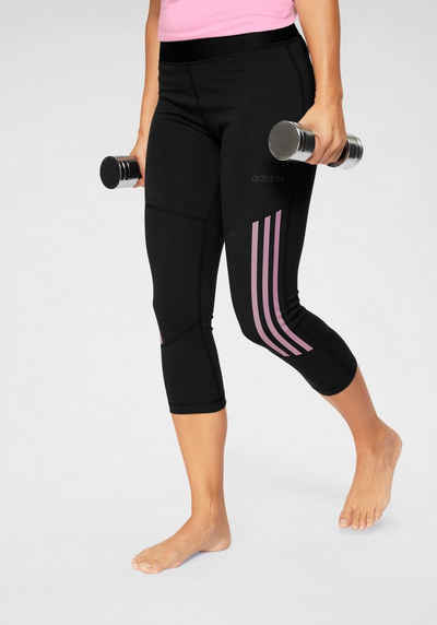 eccf37cdd737e8 adidas Lauftights »DESIGNED TO MOVE HIGH RISE 34 COTTON«