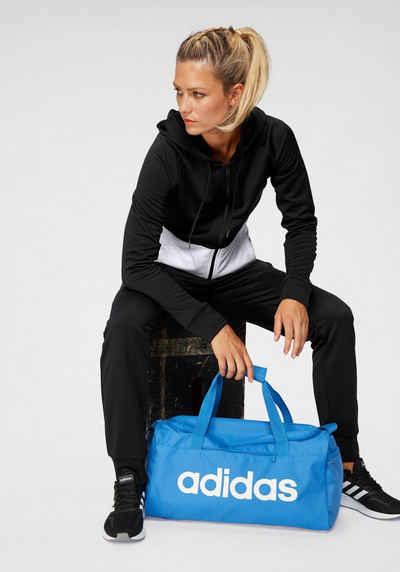 adidas Performance Trainingsanzug »WOMEN TRACKSUIT LINEAR FRENCH TERRY« (Set, 2-tlg)