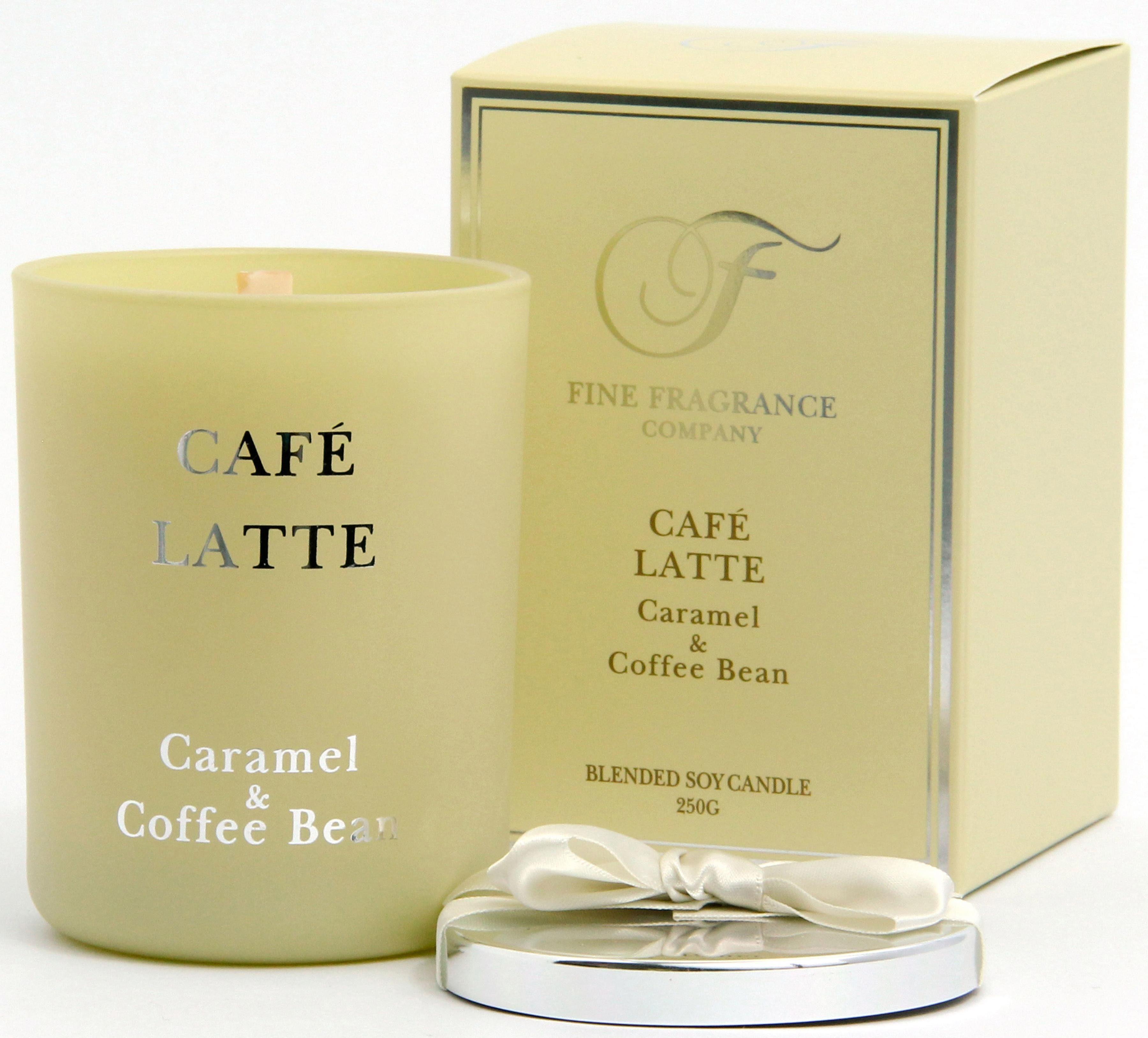 Fine Fragrance Company Duftkerze, »Melbourne - Café Latte«