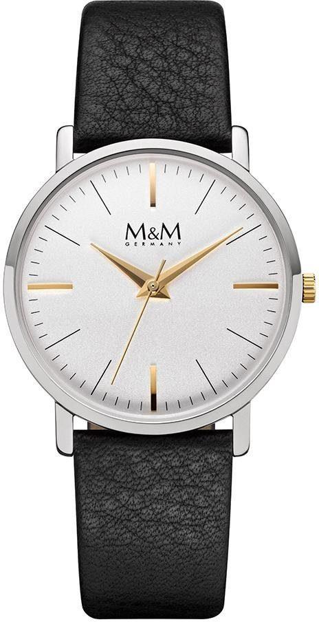 M&M GERMANY Quarzuhr »New Classic Lady, M11926-462«
