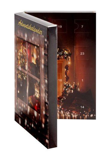 """Smart Jewel Schmuck-Adventskalender »""""Charms & Beads""""« (Set, 24 tlg) Geschenkidee für die Adventszeit"""