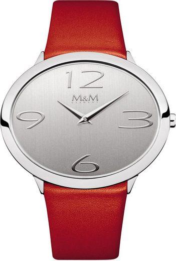 M&M GERMANY Quarzuhr »Oval Time, M11899-543«