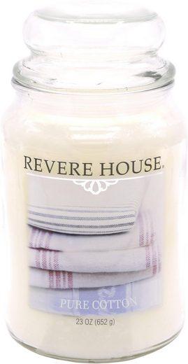 Candle-lite™ Duftkerze »Revere House - Pure Cotton« (1-tlg)
