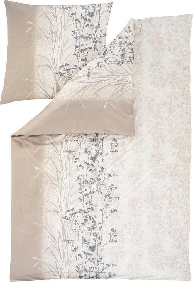 bettw sche ava estella mit sch nen bl ttermuster online kaufen otto. Black Bedroom Furniture Sets. Home Design Ideas