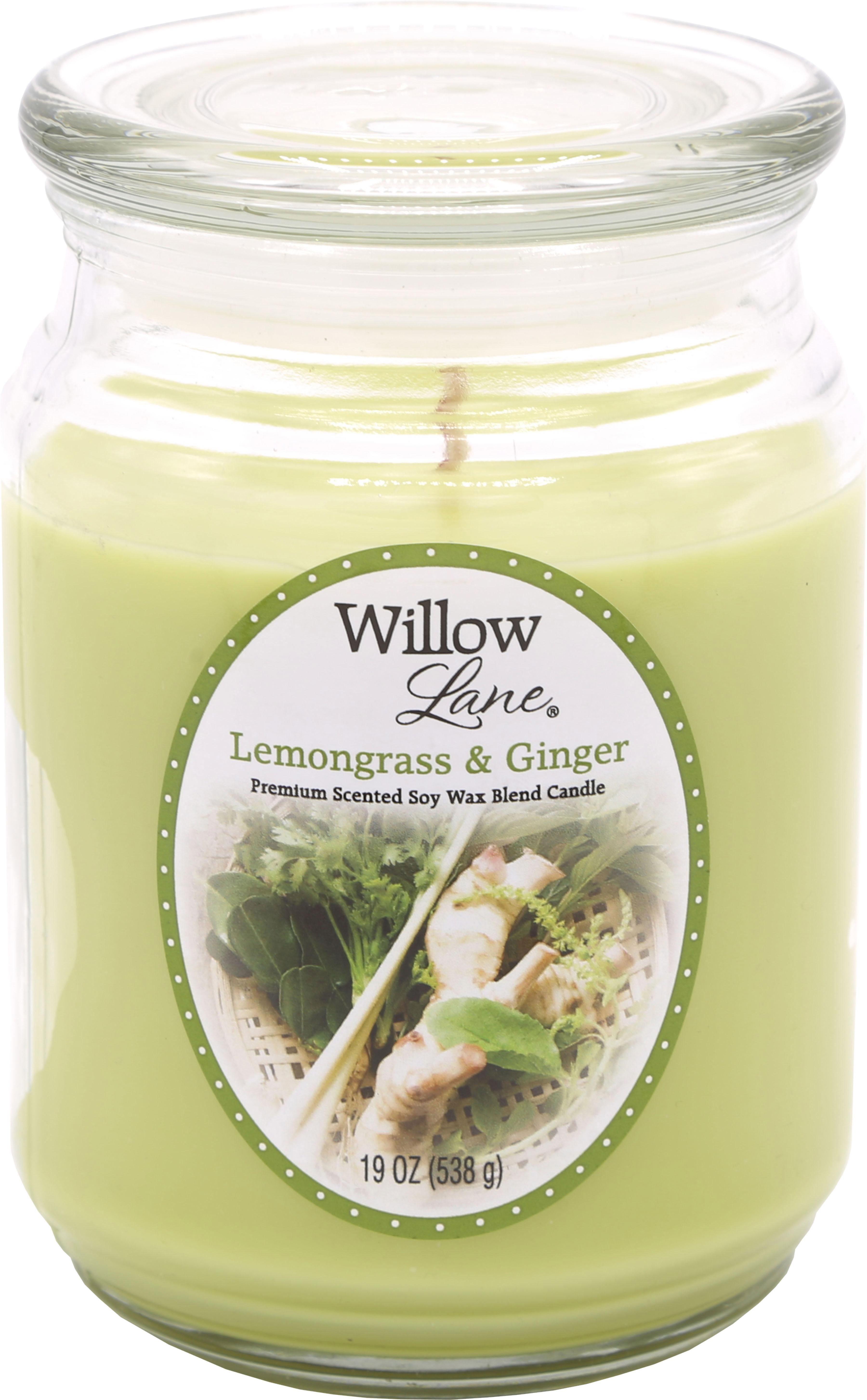Candle-lite™ Duftkerze, 538 g, »Willow Lane - Lemongrass & Ginger«