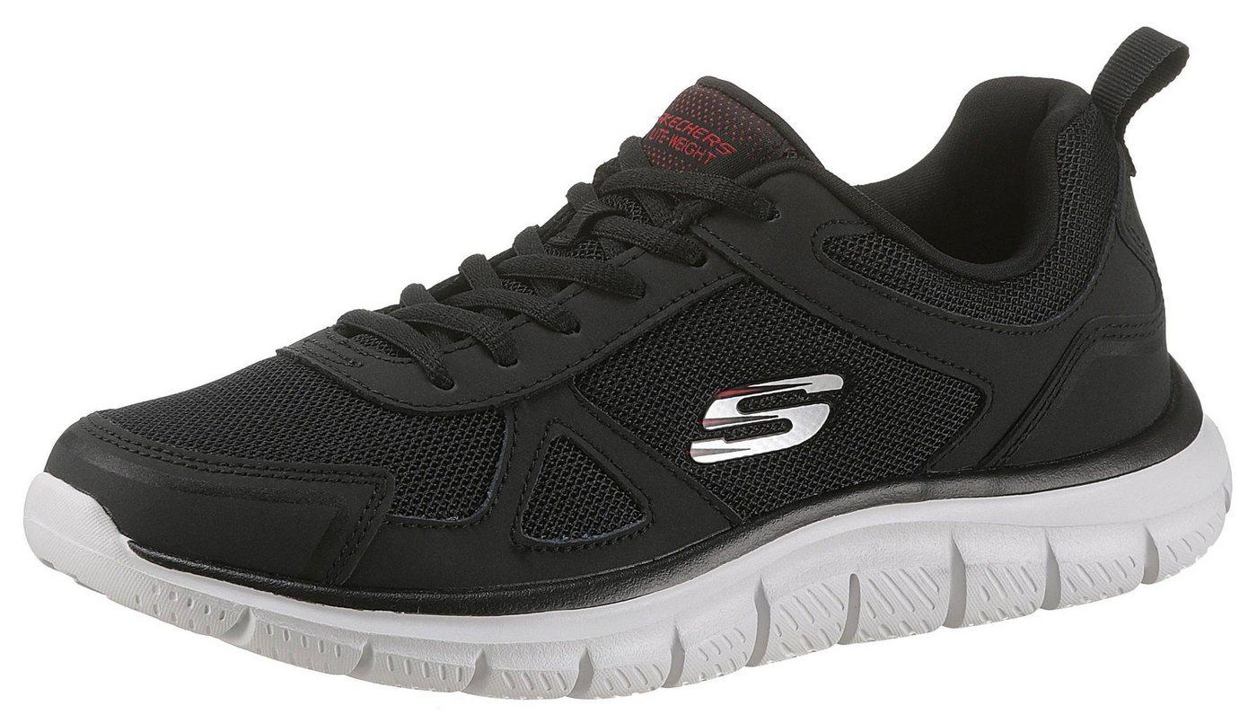 Herren Skechers Track-Scloric Sneaker mit Skechers Memory Foam schwarz | 00192283296215