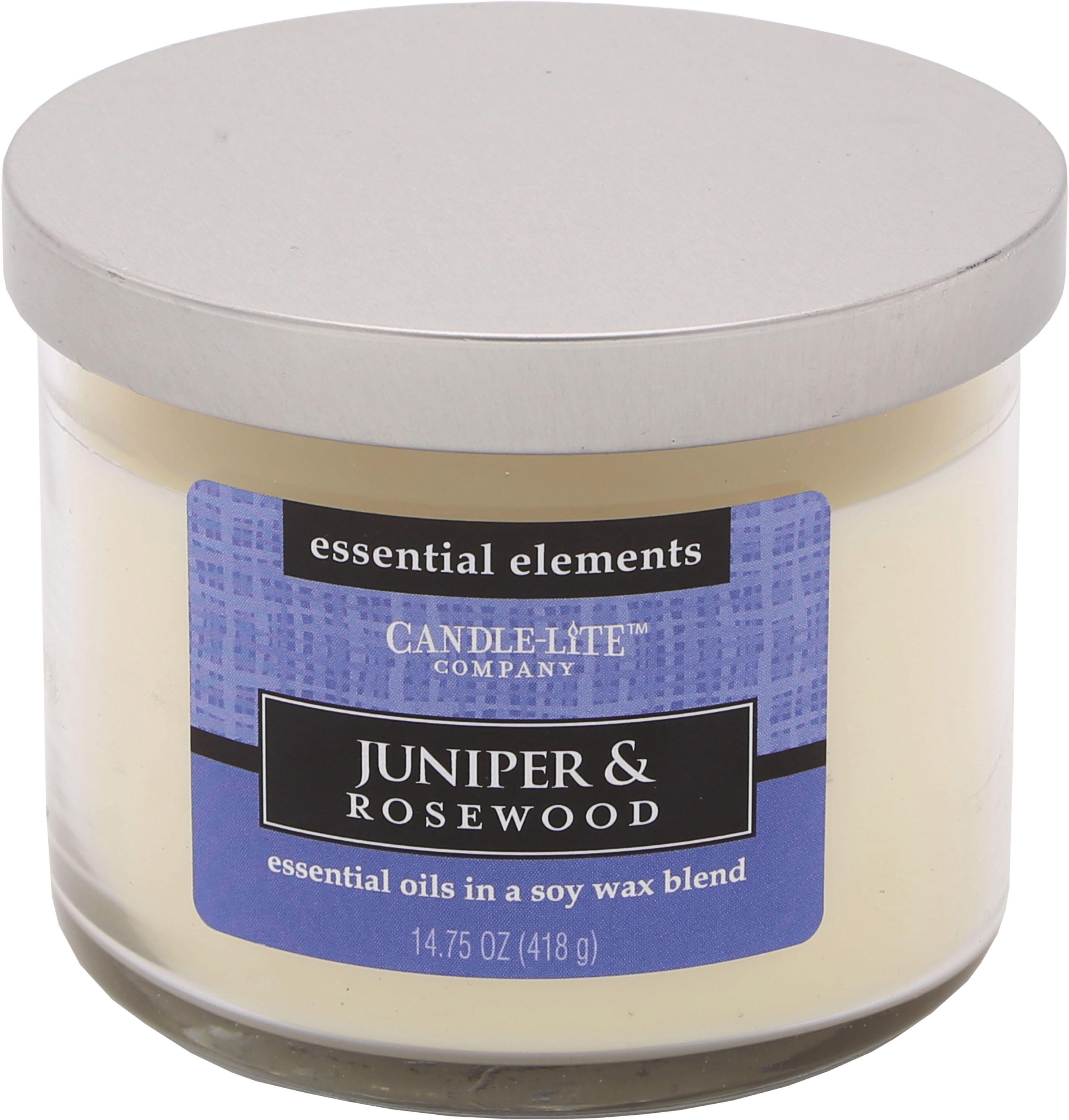 Candle-lite™ Duftkerze, 418 g, »Juniper & Rosewood«