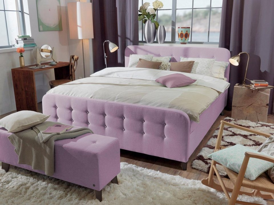 tom tailor boxspringbett mit hohem kopfteil nordic box xl. Black Bedroom Furniture Sets. Home Design Ideas