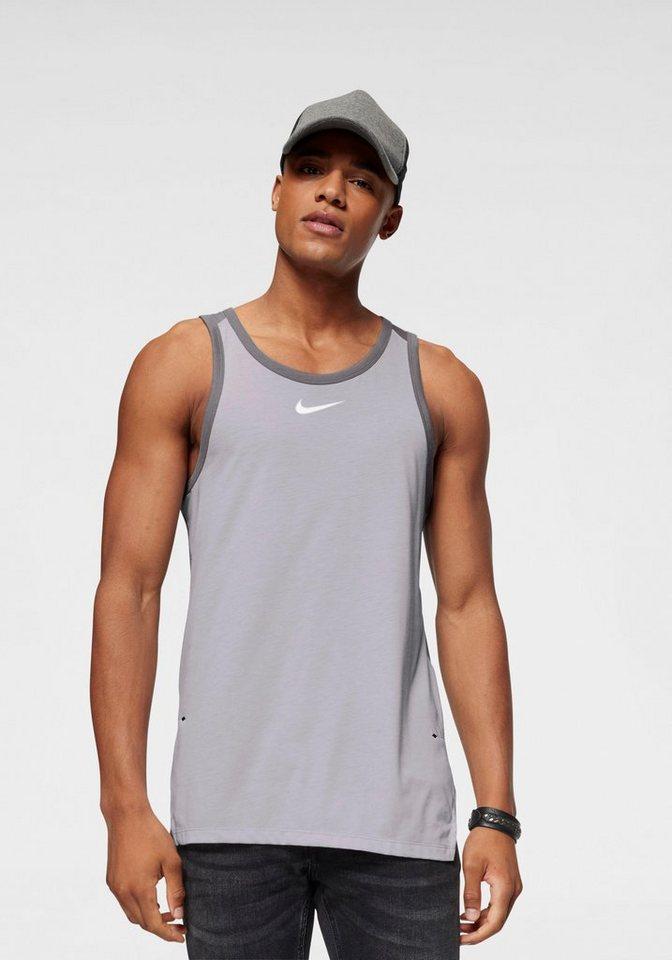 Nike Tanktop | Sportbekleidung > Tanktops | Grau | Nike