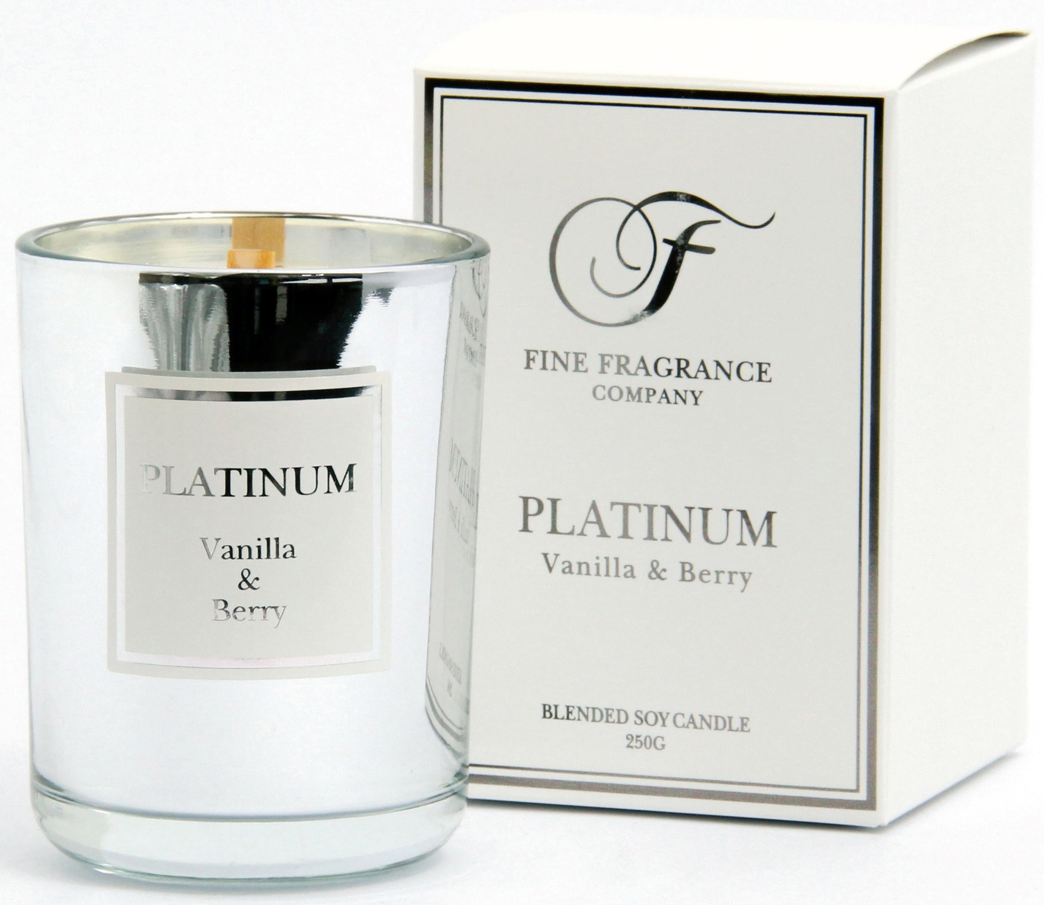 Fine Fragrance Company Duftkerze, »Precious - Platinum«