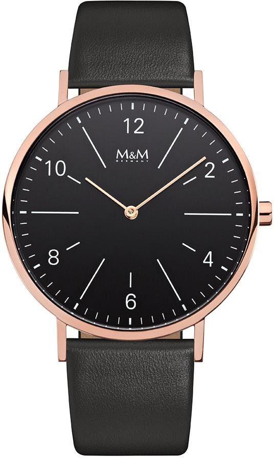 M&M GERMANY Quarzuhr »Basic Line 40, M11870-496«