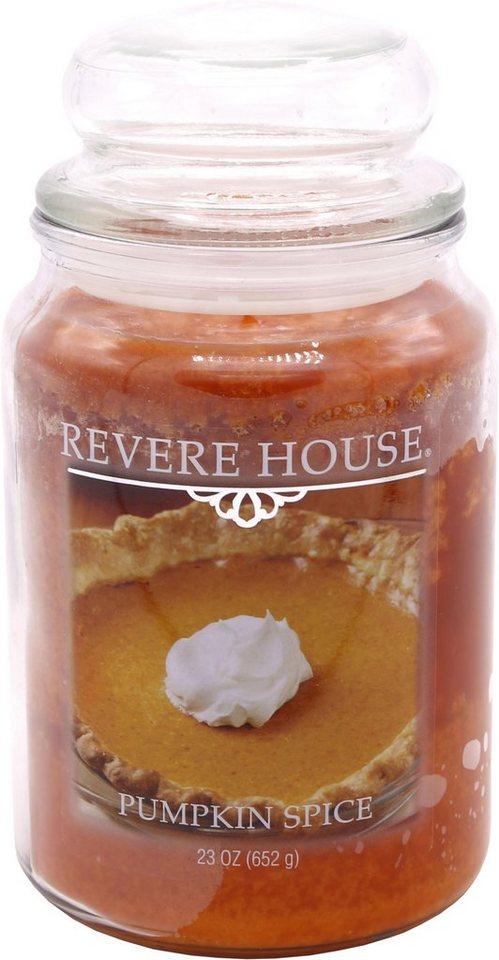 Candle-lite™ Duftkerze »Revere House - Pumpkin Spice ...