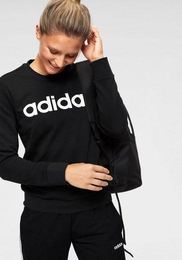 adidas Sweatshirt »E LINEAR SWEAT«
