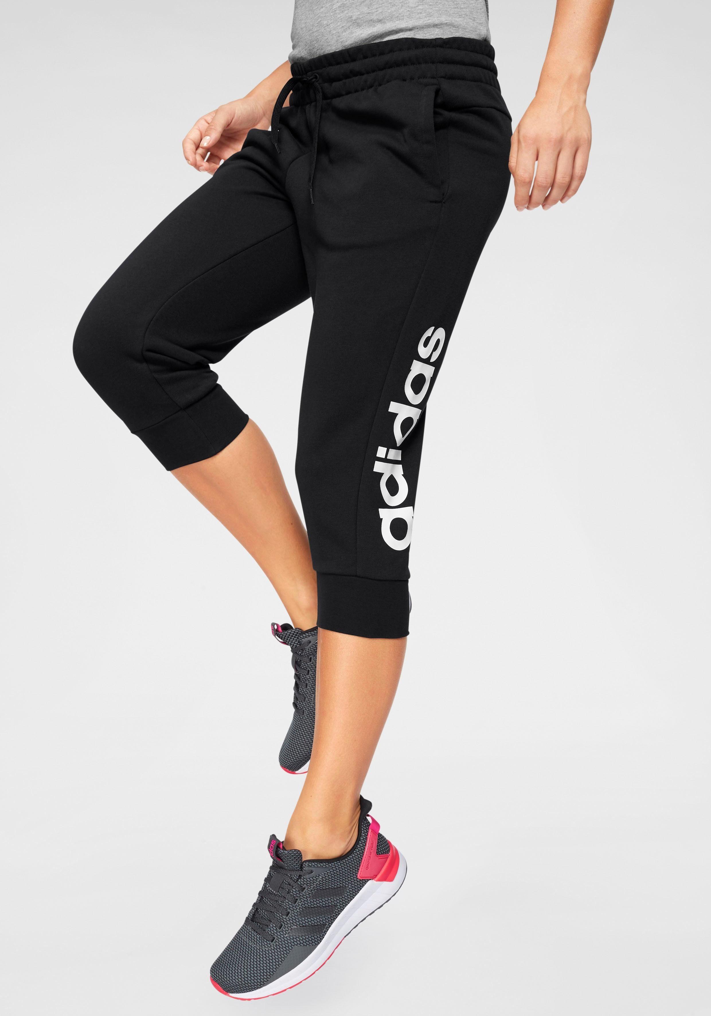 adidas Performance 34 Hose »ESSENTIALS LINEAR 34 PANT« auch in großen Größen online kaufen   OTTO