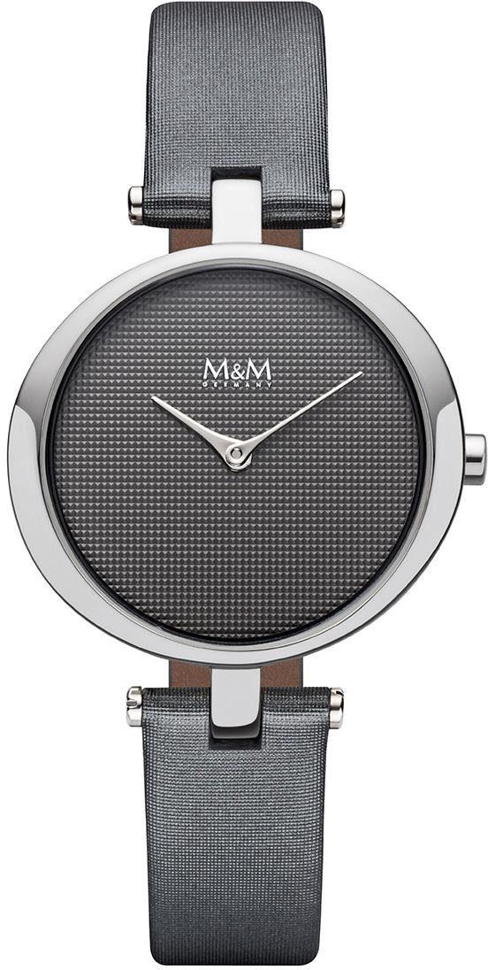M&M GERMANY Quarzuhr »Ring-O, M11931-848«