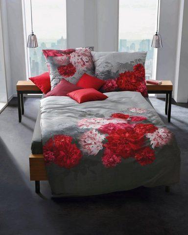 Bettwäsche »Flamenco«, Kaeppel, mit Blüten Motiven versehen