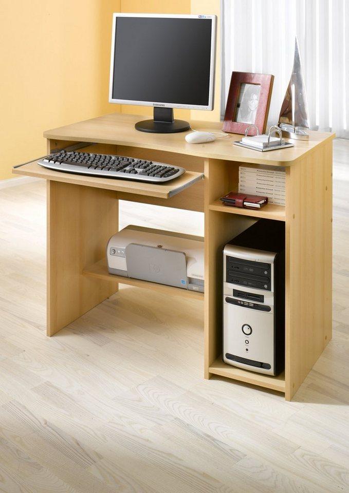 computertisch kaufen computerschreibtisch otto. Black Bedroom Furniture Sets. Home Design Ideas