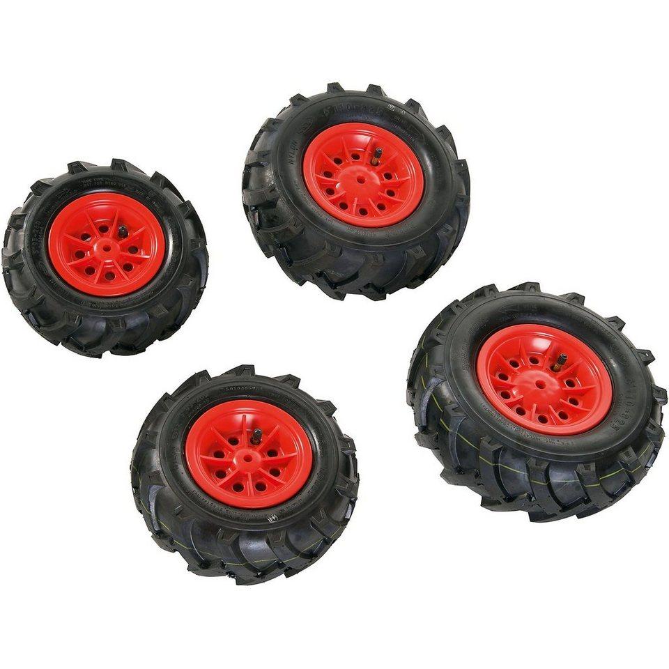 Rolly Toys rollyTrac Luftreifen, rote Felgen, 2x 260x95 + 2x 325x110 online kaufen