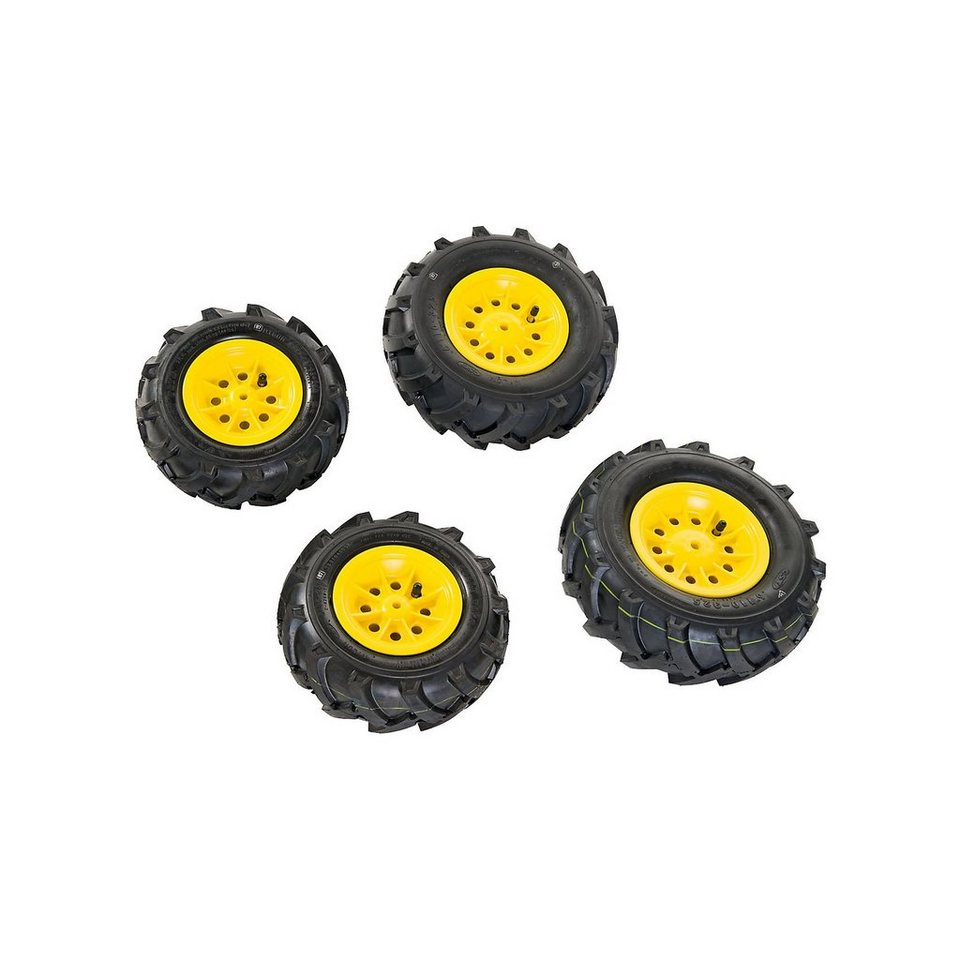 Rolly Toys rollyTrac Luftreifen, gelbe Felgen, 2x 260x95 + 2x 325x110 online kaufen
