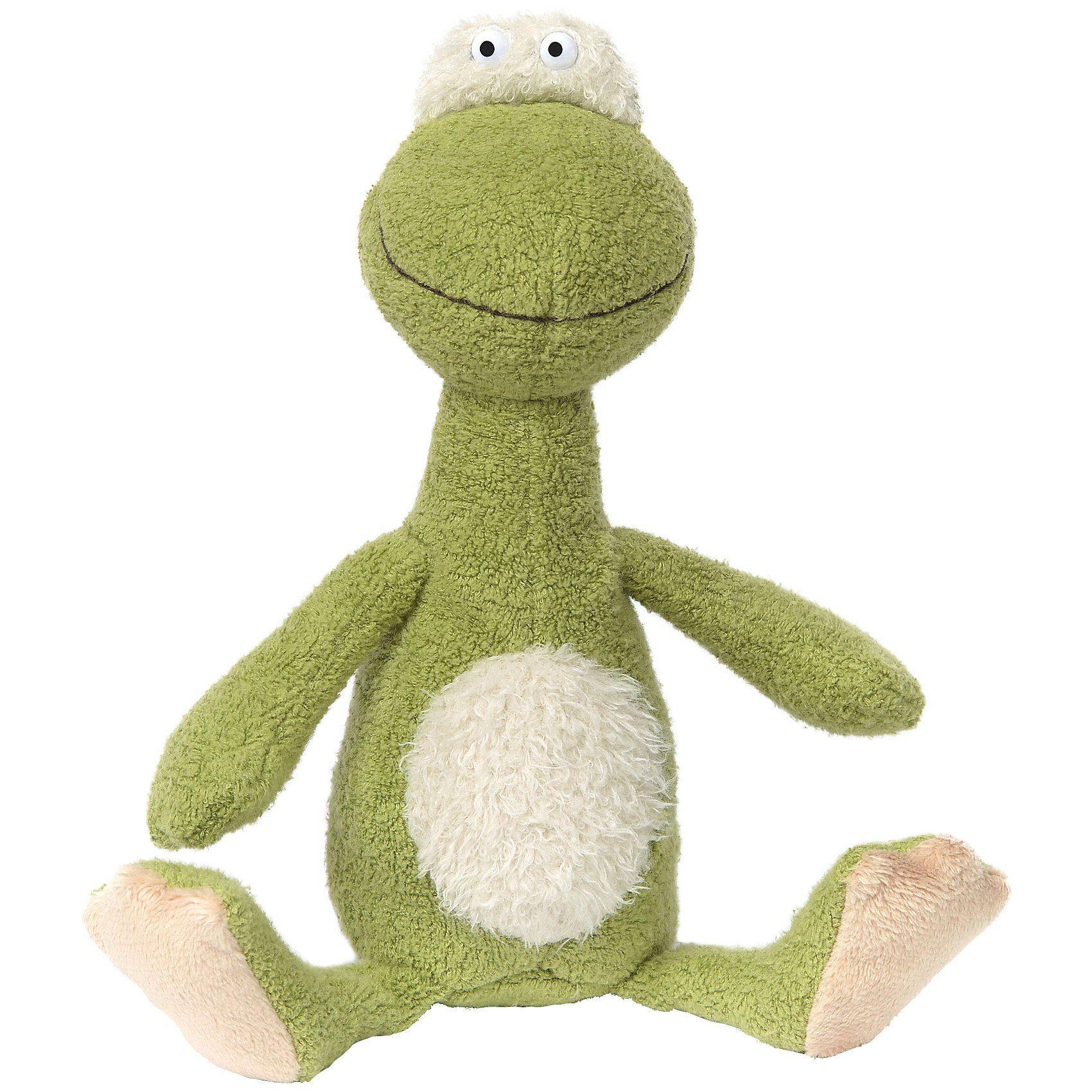 Sigikid Frosch klein, Ach Good! Family & Friends, 20cm (38880)