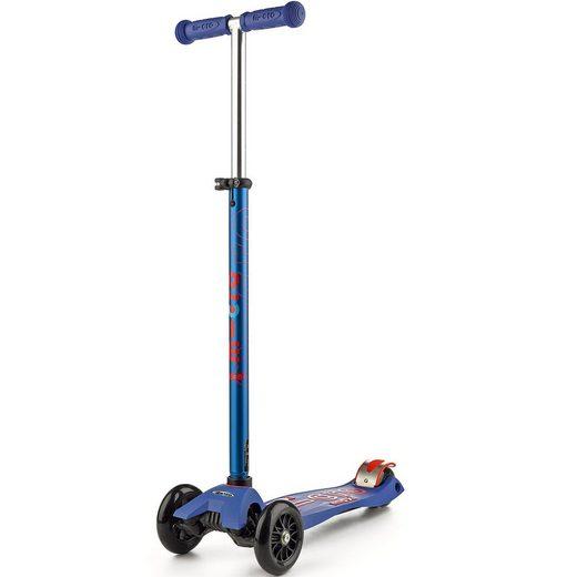 Micro Twist-Scooter maxi deluxe, blau