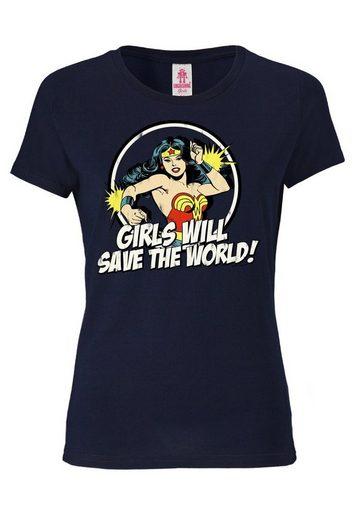 LOGOSHIRT T-Shirt mit Wonder Woman-Aufdruck »Wonder Woman«