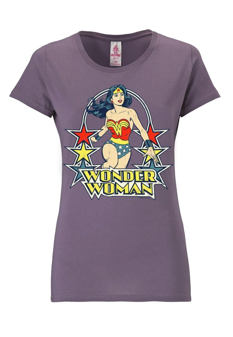 LOGOSHIRT Футболка mit großem Wonder Woman-Print »Wonder Woman«
