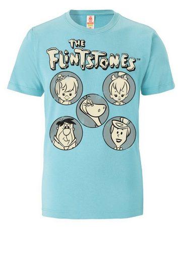 LOGOSHIRT T-Shirt »Familie Feuerstein«