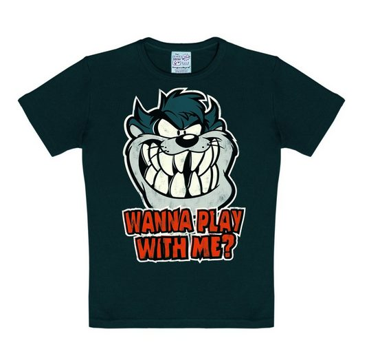 LOGOSHIRT T-Shirt »LOONEY TUNES - WANNA PLAY...«