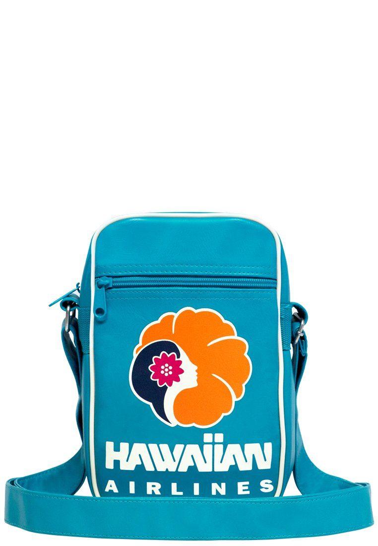 LOGOSHIRT Schultertasche mit großem Front-Print »Hawaiian Airlines«