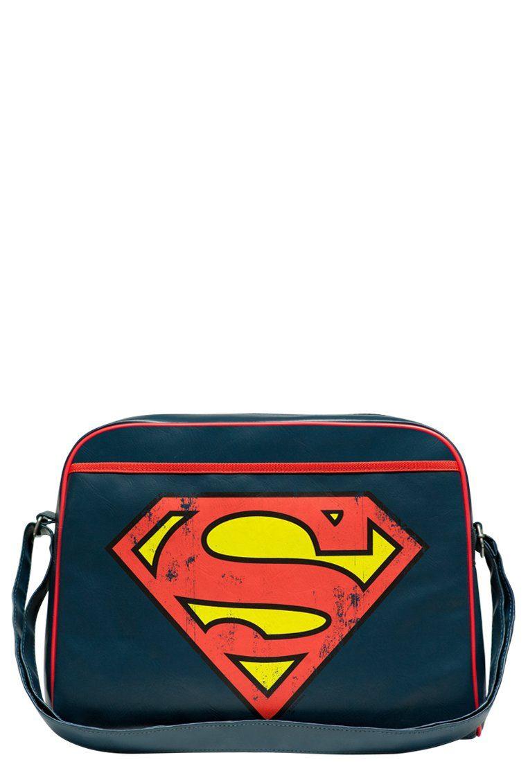 LOGOSHIRT Schultertasche mit Superman-Logo »Superman - Logo«