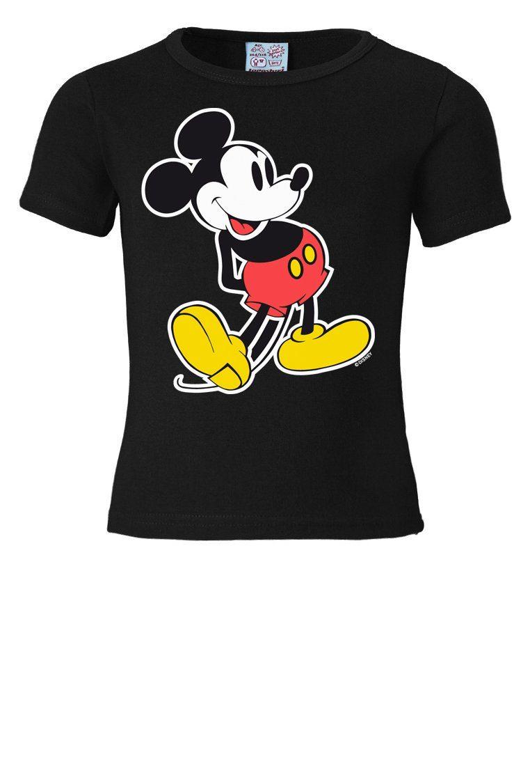 LOGOSHIRT T-Shirt mit Mickey Mouse-Frontdruck »Mickey Mouse - Disney«