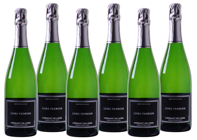 Schaumwein aus Frankreich »12,5 % - 6 x 0,75 l - Loire Premium«