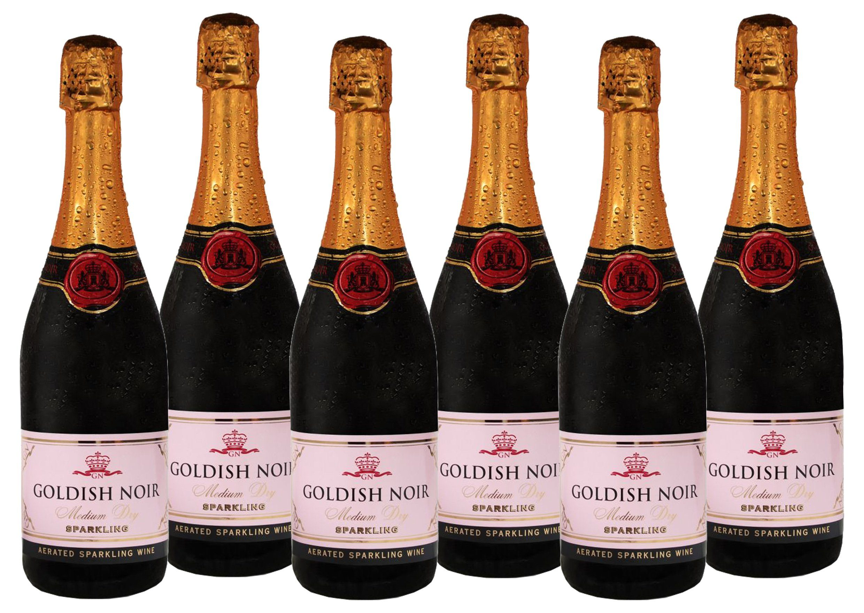 Schaumwein aus Deutschland »8,5 % - 6 x 0,75 l - Goldish Noir«