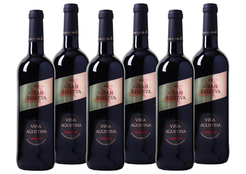 Rotwein aus Spanien »13 % - 6 x 0,75 l - Viña Agustina 2011«